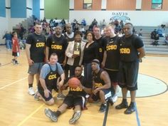 """With a score of 80-71, it was a """"slam dunk"""" for the CCSO who beat the Maryland State Police in a game of basketball at the 2012 Annual Sgt. Timothy Minor Memorial Basketball Game held on March 10 at Theodore Davis Middle School in Waldorf.       For 16 years, members of the CCSO and MSP have participated in this annual event as a way to remember Sgt. Minor, a CCSO Motors officer who died in the line of duty on February 12, 1996, after he was struck by a car while responding to an emergency…"""