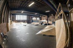 Skate Park, Interior, Indoor, Interiors