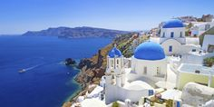 Which Greek Islands is Better Mykonos or Santorini or Crete or Corfu 2018 Amazing Places On Earth, Places Around The World, Oh The Places You'll Go, Places To Travel, Beautiful Places, Around The Worlds, Beautiful Sunset, Mykonos, Oia Santorini