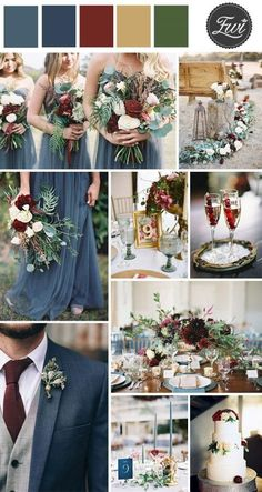 Image result for best fall wedding colors
