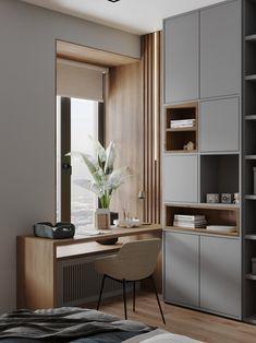 Room Design Bedroom, Home Room Design, Home Office Design, Home Office Decor, Home Interior Design, Interior Architecture, Bedroom Decor, House Design, Home Decor
