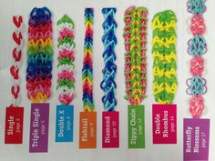 Custom made rubber band bracelets. by RainbowLoom4Charity on Etsy, $2.50