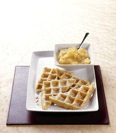 Kartoffelpuffer aus dem Waffeleisen