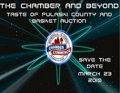 Save the Date for the Taste of Pulaski County & Basket Auction on March 23, 2019! #TasteofPulaskiCounty #WSRBasketAuction