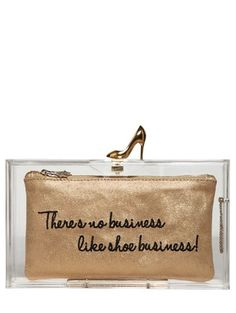 Love this from Charlotte Olympia clutch! She has become the princess of kitchy cool accessories...but of course Lulu Guinness will always reign supreme.....x