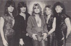 Blizzard Of Ozz Rudy Sarzo, Don Airey, Ozzy Osbourne, Randy Rhoads and Tommy Aldridge