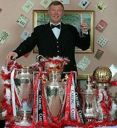 The Treble British Football, Manchester United Football, Man Utd Fc, Real Zaragoza, Sir Alex Ferguson, Premier League Champions, European Cup, Salford, Man United