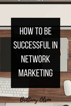Network marketing is evolving. What was once a door-to-door direct sales  business has become a business opportunity you can work online from home.  So many people have gained financial freedom through network marketing  companies. Starting a business you can work from home is an amazing thing.  But- that's where some people go wrong.A network marketing company is a  business. You have to run it like a business or it won't work. You have to  do the work. It seems a lot of people sign u...