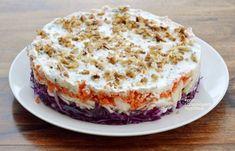 Λαχανοσαλάτα τούρτα - cretangastronomy.gr Salad Bar, Party Time, Food And Drink, Pudding, Dishes, Desserts, Recipes, House, Foods