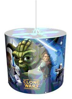 Star Wars Pendellampe, selvlysende - Star Wars lampe 61616 Shop - Eurotoys - Legetøj online