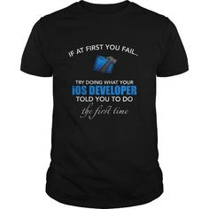 Awesome Tee iOS Developer Xcode T shirt