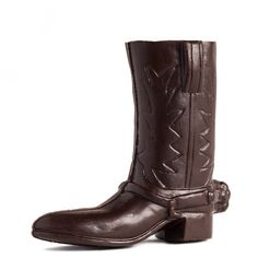 Chocolate cowboy boot, $20 (Made in Austin, Texas) #madeinusa #madeinamerica