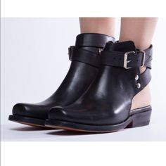 NaNa x Solestruck black sandal boots NaNa x Solestruck Mimi. A bit too small for me, worn several times but in great condition. Selling for less on my Depop account @kelseylim NaNa x Solestruck Shoes