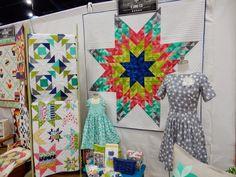 A Quilting Life - a quilt blog: Fall 2014 Quilt Market Part 3: Moda Booths
