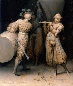 "Three Soldiers"", 1568, Pieter Bruegel the Elder."