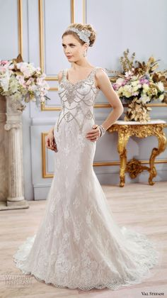 Val Stefani Spring 2016 Wedding Dresses — + Interview with designers Valerie and Stephanie | Wedding Inspirasi
