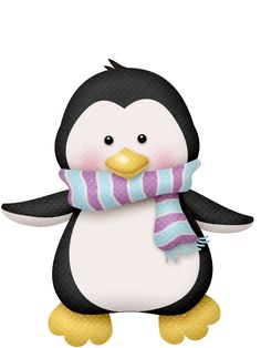 "Photo from album ""Snowfriends"" on Yandex. Winter Clipart, Christmas Clipart, Christmas Printables, Christmas Crafts, Penguin Clipart, Penguin Art, Cute Clipart, Illustration Noel, Illustrations"