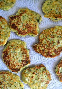 Girl In An Apron: Zucchini Feta Cakes