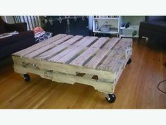 Vintage Pallet Coffee Table MUST GO