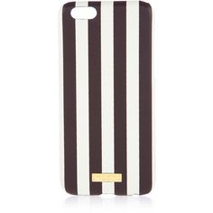 Henri Bendel Centennial Stripe Case For Iphone 6 ($48) ❤ liked on Polyvore