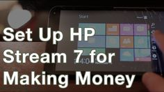 How to Set Up HP Stream 7 Tablets for Making Money Document for Setting Up Devices for Making Money: http://ift.tt/2fTTWJm 12-Port USB Hub (3.5A ports on bottom work): http://amzn.to/2fPawaS Buy the HP Stream 7 Amazon: http://amzn.to/2eZ96fg Walmart: http://ift.tt/2fBEPRU There are no BestBuy listings available. Please feel free to leave any comments below! Learn More Here: http://ift.tt/1Ss9NeJ Facebook: http://ift.tt/1p08CXU Facebook Group: http://ift.tt/1Ss9P69 Twitter…