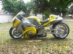suzuki-hayabusa....know of someone that has one...he LOVES his