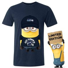 Lol Seahawks minions shirt. :)