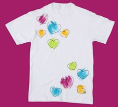 Color My Heart T-shirt for Mother's Day
