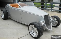 1933 Jeremy Mcgraths High Boy Roadster  by Dominator Street Rods in Tracy CA . Click to view more photos and mod info.