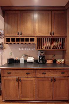 Quarter-Sawn Oak Kitchen