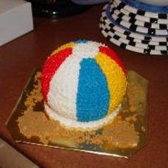 Beach Fun! Cake