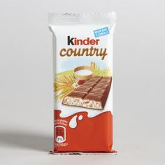 One of my favorite discoveries at WorldMarket.com: Kinder Country