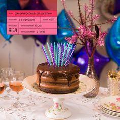 Moldando Afeto » bolo de chocolate com caramelo — o chef e a chata