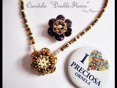 ▶ Tutorial | Double Flower | come utilizzare le Ripple di Preciosa Ornela - YouTube