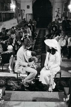 The wedding of Mick and Bianca Jagger