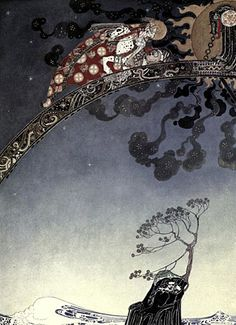 Illustration by Kay Nielsen for East of the Sun and West of the Moon