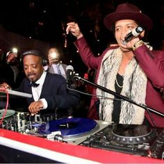 Bruno Mars hosting the  NYE party in Las Vegas at the Tryst 2015
