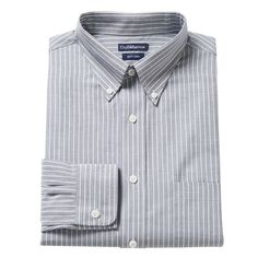 Men's Croft & Barrow® Slim-Fit Easy-Care Button-Down-Collar Dress Shirt, Size: 1