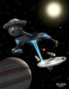Captain's log 39 cover by Adam-Turner on DeviantArt Klingon Empire, Star Trek Klingon, Star Trek Tv, Star Trek Starships, Star Wars Art, Star Trek Original Series, Star Trek Series, Tv Series, Nave Enterprise