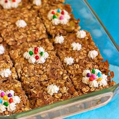Maple Apple Pie Oat Bars on FamilyFreshCooking.com