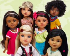 Christmas idea. Hearts for Hearts dolls. A portion of profits goes to Worldvision. I bought the African one because she has natural hair like my daughter.