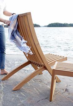 Outdoor furniture by Karell Design. Outdoor Chairs, Outdoor Furniture, Outdoor Decor, Chair Design, Sun Lounger, Home Decor, Garden Furniture Outlet, Chaise Longue, Garden Chairs
