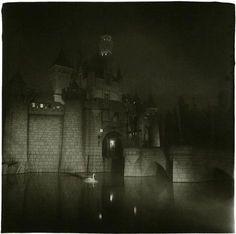 Diane Arbus, A Castle in Disneyland, California, 1962