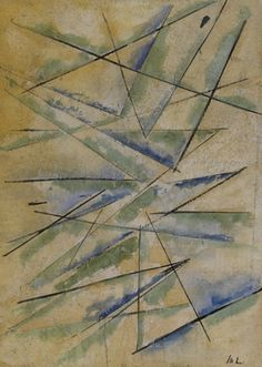 Mikhail Larionov - Rayonism Rayonism,  Russian avant-garde art, abstract art in Russia, лучизм, русский авангард, искусство 20 века, абстрактное искусство