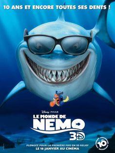 Le monde de Némo revient en 3D au cinéma le 16 Janvier 2013  #NEMO © Disney