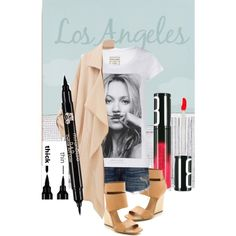 """""""Street Chic"""" by mirenessecosmetics on Polyvore #StreetStyle #StreetChic #streetstyle #style #chic #contestentry #contest #casual #casualoutfit #CasualChic #mirenesse #lips #winged #eyeliner #mattelips #coral #pink #Trendy #trend"""
