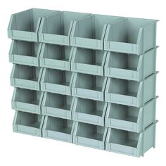 I need this for...something.  $8.99 at Harbor Freight Storehouse 41949 20 Piece Poly Bins and Rails