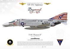"UNITED STATES NAVYFIGHTER SQUADRON ONE FIVE ONE (VF-151) ""Vigilantes""USS MIDWAY (CVA 41), CVW-5. 1976"