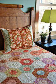 Love the quilt! Love the pillow sham!!