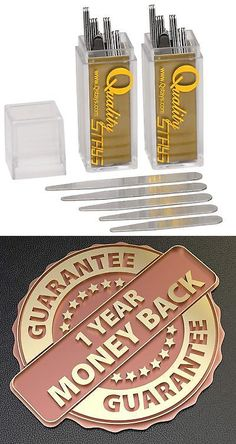 5 Sizes In A Plastic Box 80 Stainless Steel Collar Stays 2 Pack Of 40